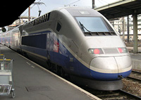 TGV train of France